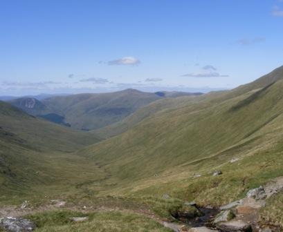 View of Glenlyon from Ben Lawers